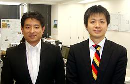 熊倉智光と株式会社日本ネイチャー&テクノロジー代表取締役 杉村 剛さん