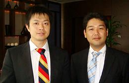熊倉智光と株式会社ディバース 代表取締役 河村光基さん