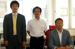 熊倉智光と株式会社ミント 代表取締役 田﨑令一さん