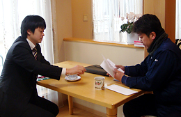 熊倉智光と株式会社森田電気工事 代表取締役 森田進一さん