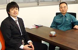 熊倉智光と株式会社ソーリン 代表取締役 野村一也さん